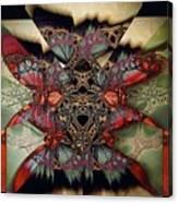 Butterfly Effect 2 / Vintage Tones  Canvas Print