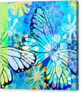 Butterfly In Flight #3  Canvas Print