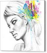 Butterfly Queen Canvas Print