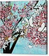 Butterfly Star Magnolia Soulangeana 201825 Canvas Print