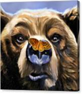 Butterfly Surprise Canvas Print