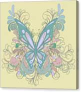 Butterfly Swirls Canvas Print