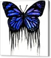 Butterfly Tears Canvas Print