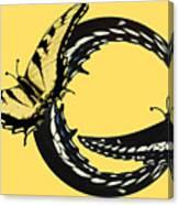 Butterfly Twist Canvas Print