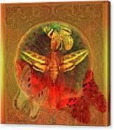 Butterflyman Solarlife Canvas Print