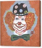 Buttons The Clown Canvas Print