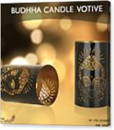 Buy Attractive Buddha Candle Votive From Rustik Craft  Canvas Print