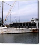 Buy Boat Nora W Canvas Print