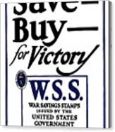 Buy For Victory Canvas Print
