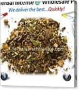 Buy Herbal Incense In Great Number At Wholesale Prices Canvas Print