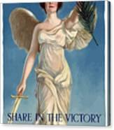 Buy War Savings Stamps Canvas Print