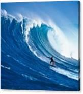 Buzzy Kerbox Surfing Big Canvas Print