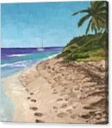 Bvi Mooring Canvas Print