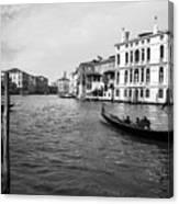 Bw Venice Canvas Print