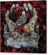 By His Hands Canvas Print