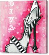 By Pink Design By Madart Canvas Print