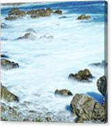 By The Sad Sea Waves Canvas Print