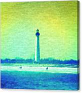 By The Sea - Cape May Lighthouse Canvas Print
