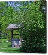 By The Wishing Well-horizontal Canvas Print