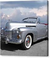 Bygone Era - 1941 Cadillac Convertible Canvas Print