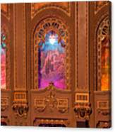 Byrd Theater Alcoves Canvas Print