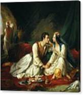 Byron As Don Juan Canvas Print