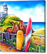 Byron Bay Lighthouse Canvas Print