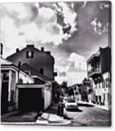 Bywater In Black And White Canvas Print