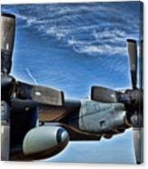 C-130 Hdr Canvas Print