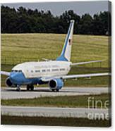 C-40 Clipper Taxiing At Dresden Canvas Print
