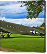 C-47 Special Delivery Canvas Print