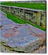 C And O Canal Lock Canvas Print