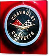 C2 Corvette Logo Canvas Print