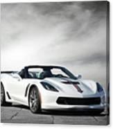 C7 Z06 Corvette Canvas Print