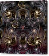 Cabalistic Symmetry Of Q Canvas Print