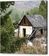 Cabin In Need Of Repair Canvas Print