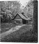 Cabin In The Cove Canvas Print