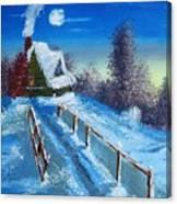 Cabin Retreat Canvas Print