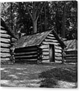 Cabins Of Valley Forge Canvas Print