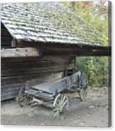 Cable Mill Barn Canvas Print