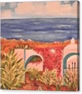 Cabo Garden Canvas Print