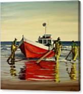 Cabo Polonio Fishing Canvas Print