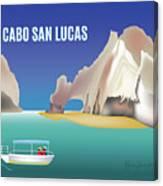 Cabo San Lucas Mexico Horizontal Scene Canvas Print