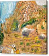Cabra Canvas Print