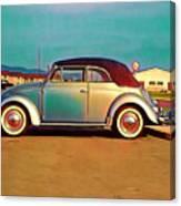 Cabriolet Classy Ride Canvas Print