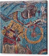 Cacaxtla Warrior I Canvas Print