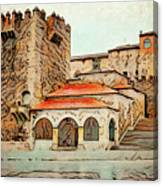 Caceres Spain Artistic Canvas Print