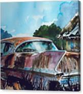 Caddy Subsiding Canvas Print