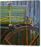 Cades Cove Mill No 2 Canvas Print