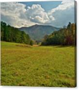 Cades Cove Pasture Canvas Print